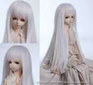 "GW45-004A Dollzone MSD 7""-8"" Wig Long White"