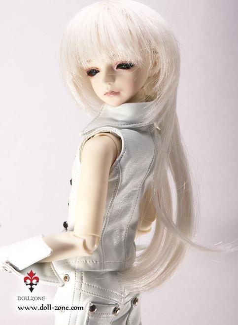 "30178A Dollzone MSD 7""-8"" Wig White"