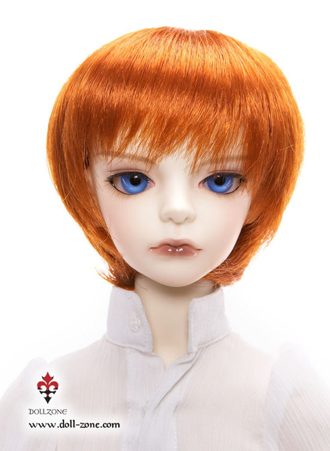 "W60-009 Dollzone SD 8""-9"" Wig Short Carrot"