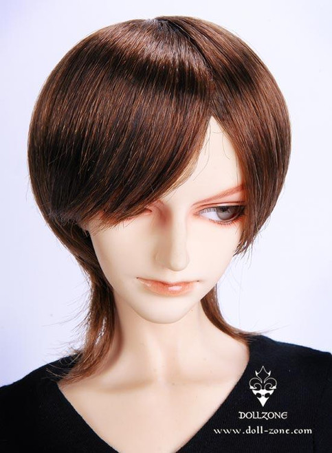 """30920 Dollzone SD+ 9""""-10"""" Wig Brown"""