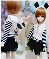 JC038-45 JC 1/4th Scale Panda Model Coat for 44-46cm Doll