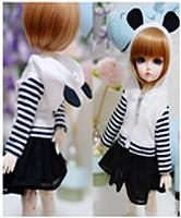 JC038-60 JC 1/3rd Scale Panda Model Coat for 60cm Doll