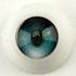Parabox Candy Eyes Half Round Acrylic Eyes - Green