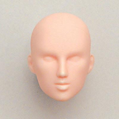 27HD-F03N Obitsu Blank Bald F03 Head for 27cm Body