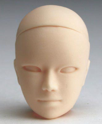 PB-2701W Parabox Blank Bald Ares Head for 27cm Slim Male Body