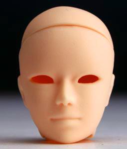 PB-2702N Parabox Blank Eyehole Ares Head for 27cm Slim Male Body