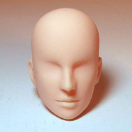 27HD-M02N Obitsu Blank Bald M02 Head for 27cm Slim Male Body