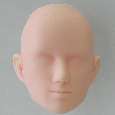 27HD-M03N Obitsu Blank Bald M03 Head for 27cm Slim Male Body