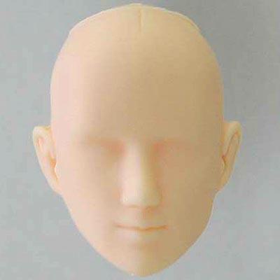 27HD-M03W Obitsu Blank Bald M03 Head for 27cm Slim Male Body