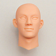 27HD-R01R Obitsu Blank Bald Head for 27cm Muscular Male Body