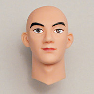 M-01-SP Obitsu Prepainted Bald Head for 27cm Muscular Male Body