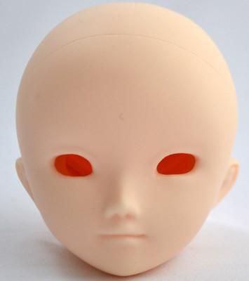 PB-4003W Parabox Blank Eyehole Ryu Head for 40cm-55cm Body