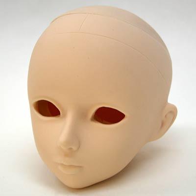 60HD-GRTL-W Parabox Blank Eyehole Gretel Head for 55cm-60cm Body