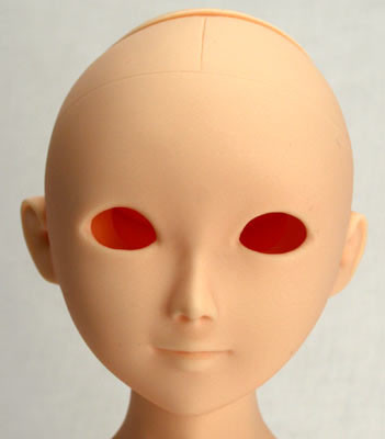 50HD-MEGU Parabox Blank Eyehole Megu Head for 45cm-50cm Body