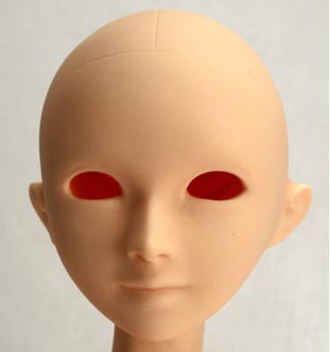 60HD-SHEBA6007 Parabox Blank Eyehole Sheba Head for 55-60cm Body