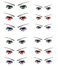 ED6-14 Parabox Eye Decal Set 14 for 11cm-27cm Fashion Dolls