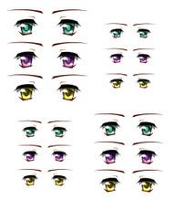 ED6-26 Parabox Eye Decal Set 26 for 11cm-27cm Fashion Dolls