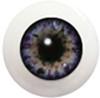 10LC02 10mm Full Round Acrylic Eyes - Slate Blue