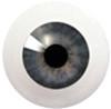 14LB02/14LB08 14mm Full Round Acrylic Eyes - Dark Violet
