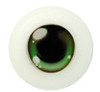14CJ02 14mm Full Round Acrylic Character Eyes - Chara Green