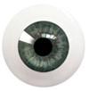 18LG05 18mm Full Round Acrylic Eyes - Red Green