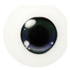 20CJ01 20mm Half Round Acrylic Character Eyes - Chara Purple