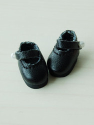 20MMMARYJANEBLACK Glib 20mm Mary Jane Shoes Black