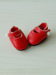 20MMMARYJANERED Glib 20mm Mary Jane Shoes Red