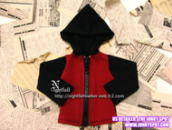 NFMSDCASUALHOODIE12 Nightfall MSD Casual Hoodie 12 for 43cm-45cm Dolls