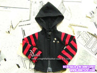 NIGHTFALLMSDPUNKHOODIE23 Nightfall MSD Punk Hoodie 23 for 43cm-45cm Dolls