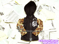 NIGHTFALLMSDPUNKHOODIE27 Nightfall MSD Punk Hoodie 27 for 43cm-45cm Dolls