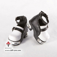 S45-001 Dollzone MSD Shoes White and Black