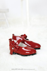 S45-019 Dollzone MSD Shoes Red