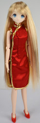 CL27F073 Parabox Chinese Dress for Obitsu 27cm Dolls
