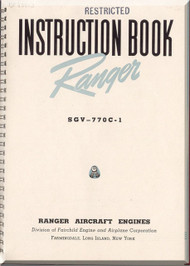 Ranger SGV -770 C Aircraft  Engine Instruction  Manual