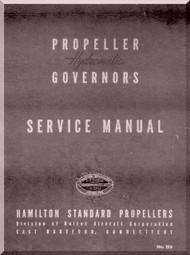 Hamilton Standard Hydromatic Governors Aircraft Propeller Service Manual