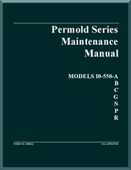Continental IO-550 -A B C G N P R  Aircraft Engine Maintenance  Manual  ( English Language )