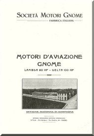 Rhone Gnome Lambda Operating Manual ( Italian  Language )