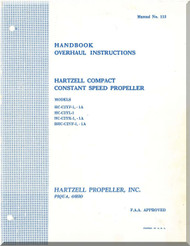 Hartzell Aircraft Propeller Overhaul Manual HC-C2YF-1,-1A - No.113