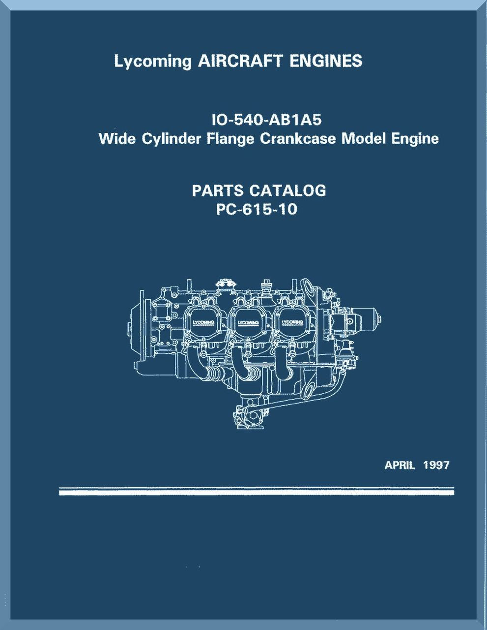 LYCOMING ENGINE IO-360-L2A PARTS CATALOG 22