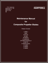 Hartzell Aircraft Propeller Composite Blades Maintenance Manual - 135F