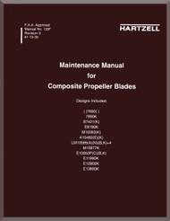 Hartzell Aircraft Propeller Composite Blades Maintenance Manual - 135F