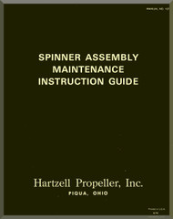 Hartzell Aircraft Propeller Spinner Assembly Manual