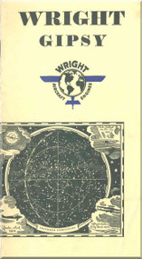 Wright Gipsy Aircraft Engine Description  Manual  ( English Language )