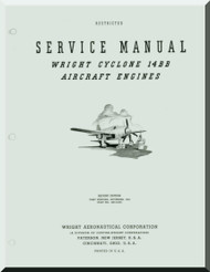 Wright R-2600 Cyclone 14 BB Aircraft Engine Service Manual - 1943