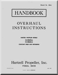 Hartzell Aircraft Propeller Overhaul Manual HC-92Z WF-2A HC-92Z WK-2A - 105-A