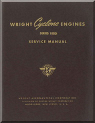 Wright R-3350 Cyclone  14 BD Aircraft Engine Service  Manual  ( English Language )