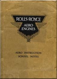 Rolls Royce Aero Engines  Instruction  School Notes  Manual