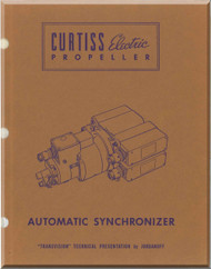 Curtiss Eletrical Propeller Automatic Synchronizer Manual - 1942