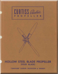 Curtiss Eletrical Propeller Hollow Steel Blade Manual